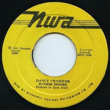 Junior Moore : Dance Crashers   Single / 7inch / 45T     Oldies / Classics