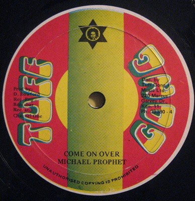 Michael Prophet : Come On Over   Single / 7inch / 45T     Oldies / Classics