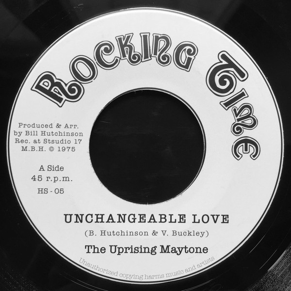 The Uprising Maytone : Unchangeable Love