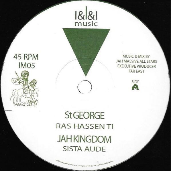 Ras Hassen Ti : St George | Maxi / 10inch / 12inch  |  UK