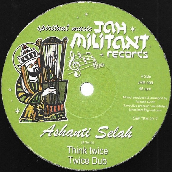 Ashanti Selah : Think Twice   Maxi / 10inch / 12inch     UK