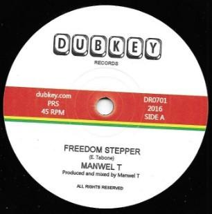 Freedom Stepper : Manwel T | Single / 7inch / 45T  |  FR