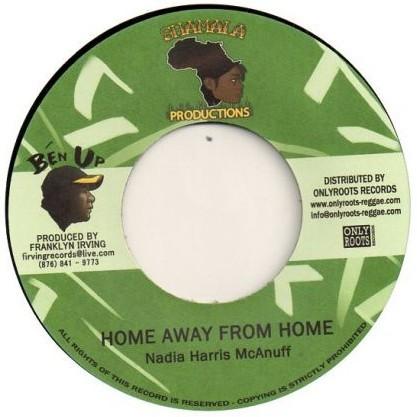 Nadia Harris Mcanuff : Home Away From Home | Single / 7inch / 45T  |  UK