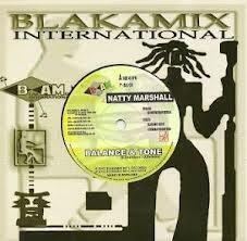 Natty Marshall : Balance & Tone   Single / 7inch / 45T     UK