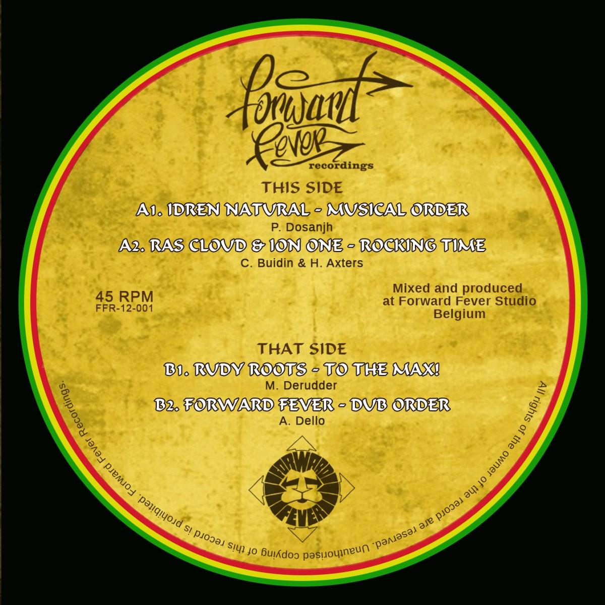 Idren Natural : Musical Order | Maxi / 10inch / 12inch  |  UK