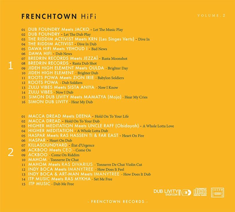 Various : Frenchtown HiFi Volume 2   CD     UK