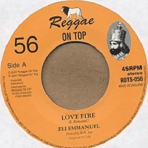 Eli Emmanuel : Love Fire   Single / 7inch / 45T     UK