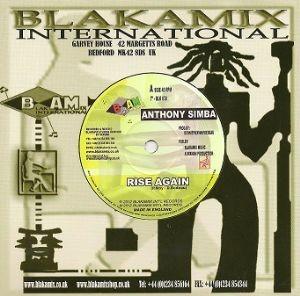 Anthony Simba : Rise Again | Single / 7inch / 45T  |  UK