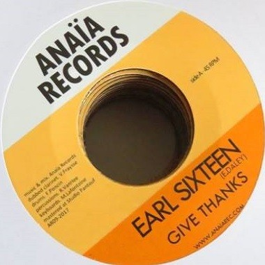 Earl Sixteen : Give Thanks   Single / 7inch / 45T     UK