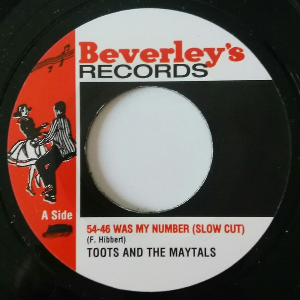 Toots And The Maytals : 54-46 Was My Number ( Slow Cut ) | Single / 7inch / 45T  |  Oldies / Classics
