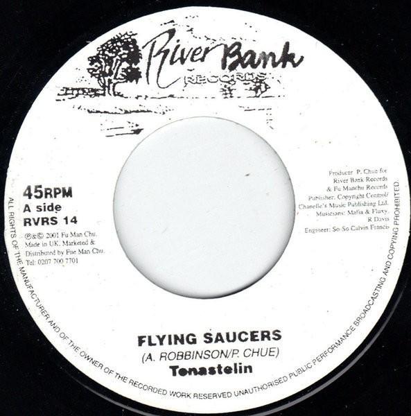 Tenastelin : Flying Saucer   Single / 7inch / 45T     UK