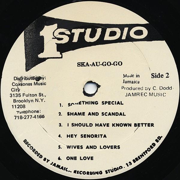 Various Artists : Ska Au Go Go   LP / 33T     Oldies / Classics
