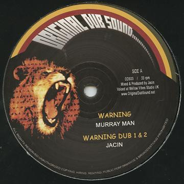 Murray Man : Warning | Maxi / 10inch / 12inch  |  UK