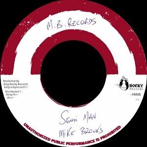 Mike Brooks : Sensi Man | Single / 7inch / 45T  |  Oldies / Classics