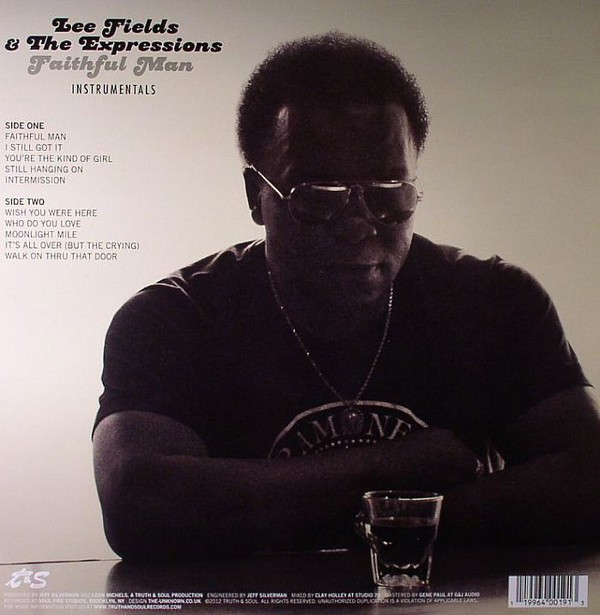 Lee Fields &  The Expressions : Faithful Man ( Instrumentals ) | LP / 33T  |  Afro / Funk / Latin