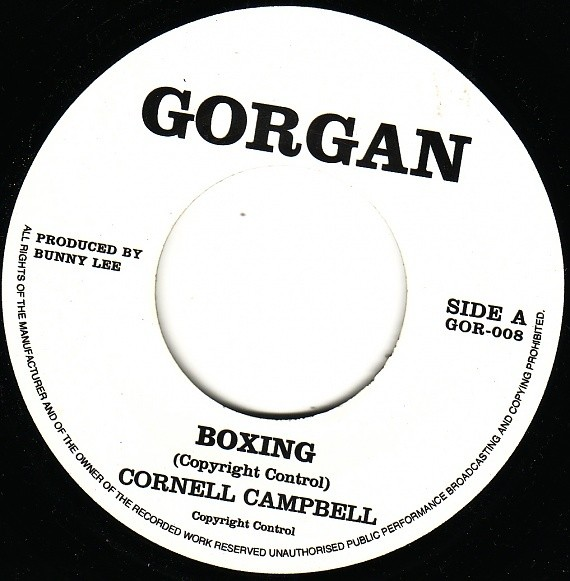 Cornell Campbell : Boxing | Single / 7inch / 45T  |  Oldies / Classics