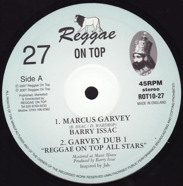 Barry Issac : Marcus Garvey + Dub | Maxi / 10inch / 12inch  |  UK