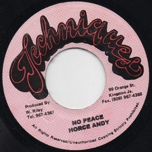 Horace Andy : No Peace | Single / 7inch / 45T  |  Oldies / Classics