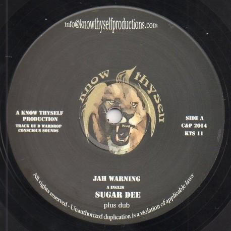 Sugar Dee : Jah Warning | Maxi / 10inch / 12inch  |  UK