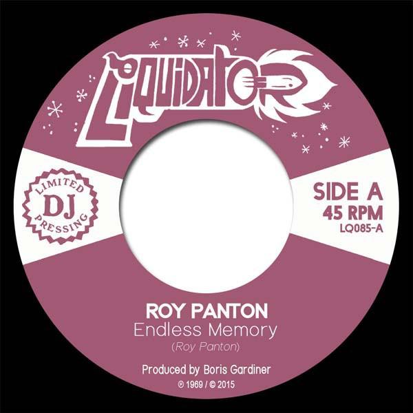 Roy Panton : Endless Memory   Single / 7inch / 45T     Ska / Rocksteady / Revive