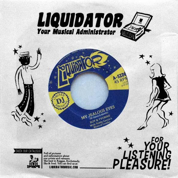 Roy And Yvonne : My Jealous Eyes   Single / 7inch / 45T     Ska / Rocksteady / Revive