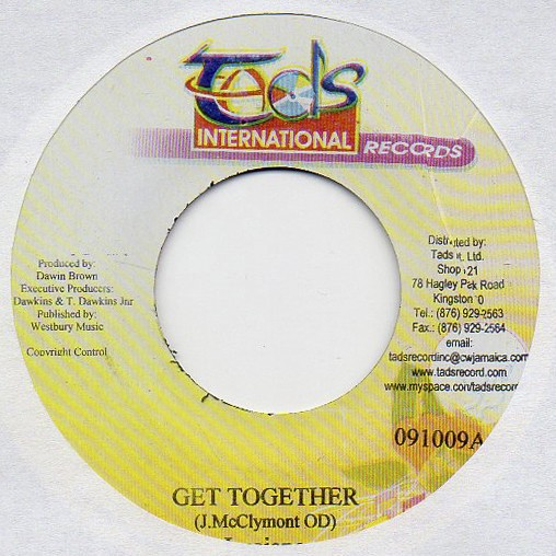 Luciano : Get Together | Single / 7inch / 45T  |  Dancehall / Nu-roots