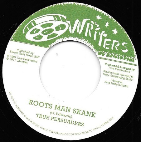 True Persuaders : Roots Man Skank | Single / 7inch / 45T  |  Oldies / Classics