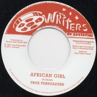 True Persuaders : African Girl | Single / 7inch / 45T  |  Oldies / Classics
