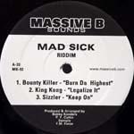 Various : Mad Sick | LP / 33T  |  Dancehall / Nu-roots