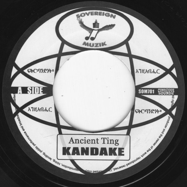 Kandake : Ancient Ting | Single / 7inch / 45T  |  UK