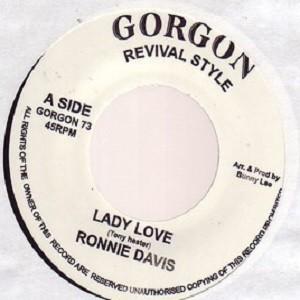 Ronnie Davis : Lady Love | Single / 7inch / 45T  |  Oldies / Classics