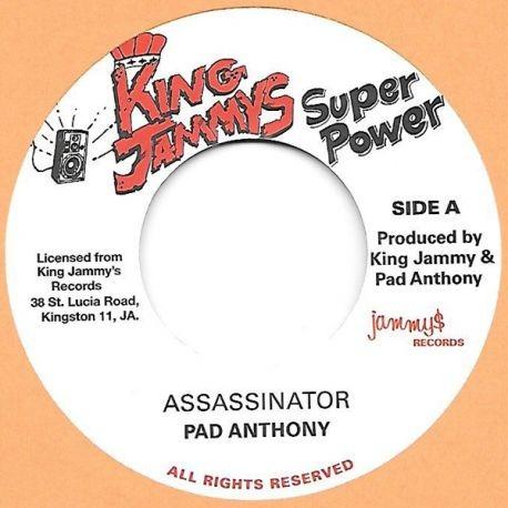 Pad Anthony : Assassinator | Single / 7inch / 45T  |  Oldies / Classics