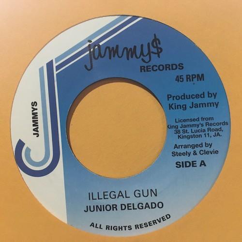 Junior Delgado : Illegal Gun | Single / 7inch / 45T  |  Oldies / Classics