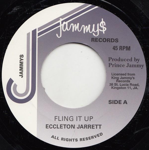 Eccleton Jarrett : Fling It Up | Single / 7inch / 45T  |  Oldies / Classics