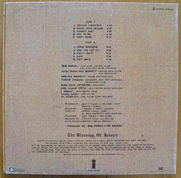 Bob Marley & The Wailers : Rastaman Vibration   LP / 33T     Dancehall / Nu-roots