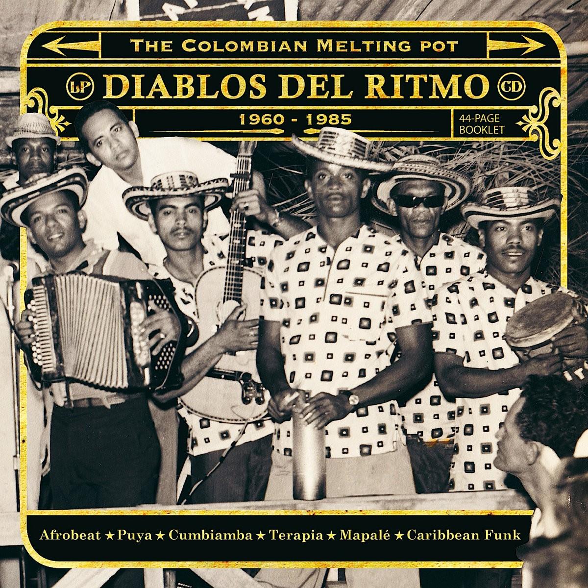 Various : Diablos Del Ritmo: The Colombian Melting Pot 1960-1985