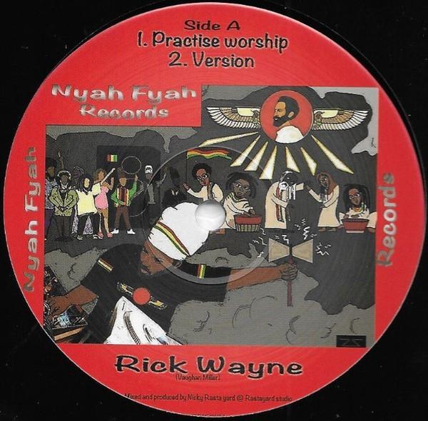Rick Wayne : Practise Worship | Maxi / 10inch / 12inch  |  UK