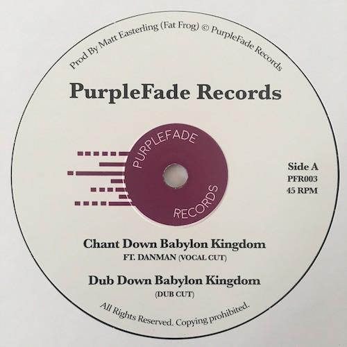 Dan Man : Chant Down Babylon Kingdom | Maxi / 10inch / 12inch  |  UK