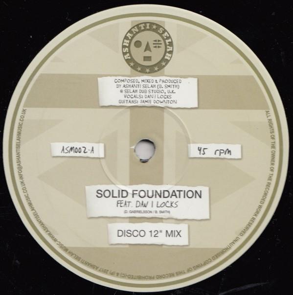 Dan I Locks : Solid Foundation | Maxi / 10inch / 12inch  |  UK