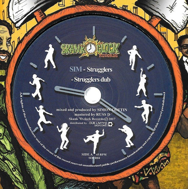 SIM : Strugglers   Maxi / 10inch / 12inch     UK
