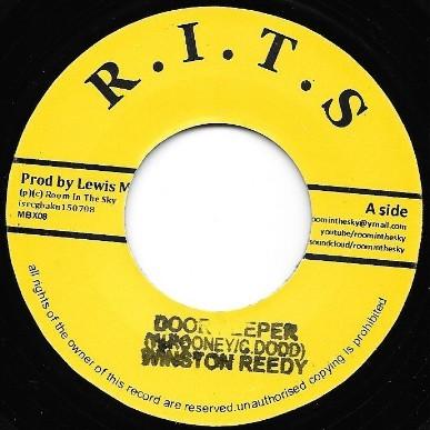 Winston Reedy : Door Peeper | Single / 7inch / 45T  |  UK