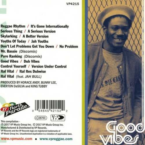 Horace Andy : Good Vibes   LP / 33T     Oldies / Classics