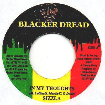 Sizzla : In My Thoughts | Single / 7inch / 45T  |  Dancehall / Nu-roots