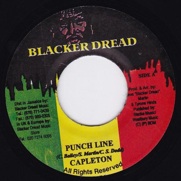 Capleton : Punch Line | Single / 7inch / 45T  |  Dancehall / Nu-roots