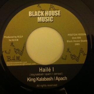 King Kalabash & Apach : Haile I   Single / 7inch / 45T     UK