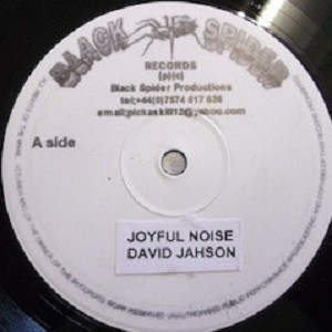 David Jahson : Joyfull Noise   Maxi / 10inch / 12inch     UK