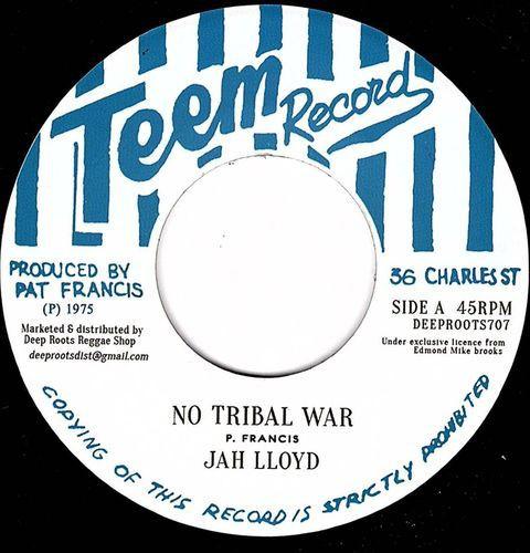 Jah Lloyd : No Tribal War