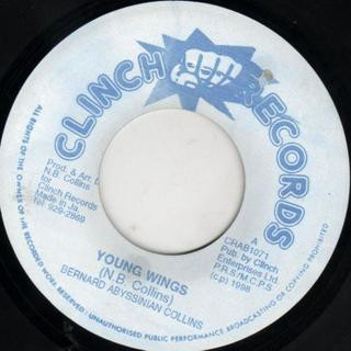 Bernard Abyssinian Collins : Young Wings | Single / 7inch / 45T  |  Oldies / Classics