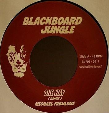 Michael Fabulous : One Way Rmx | Single / 7inch / 45T  |  UK