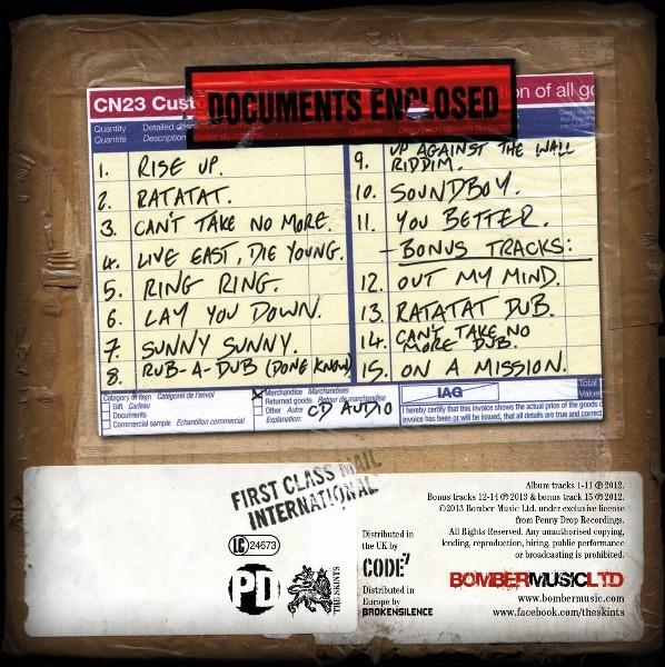 The Skints : Part & Parcel   CD     UK